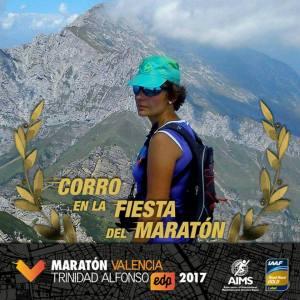 Biegnę maraton w Walencji