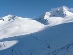 Ośnieżone alpejskie szczyty - Grossvenediger w Wysokich Taurach