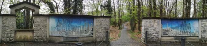 Miejsce pamięci na najwyższym punkcie Monte Isola